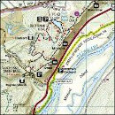 Purchase Delaware Water Gap map from Amazon