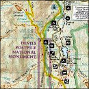 Purchase Devils Postpile map from Amazon