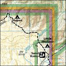 Purchase Great Sand Dunes map from Amazon