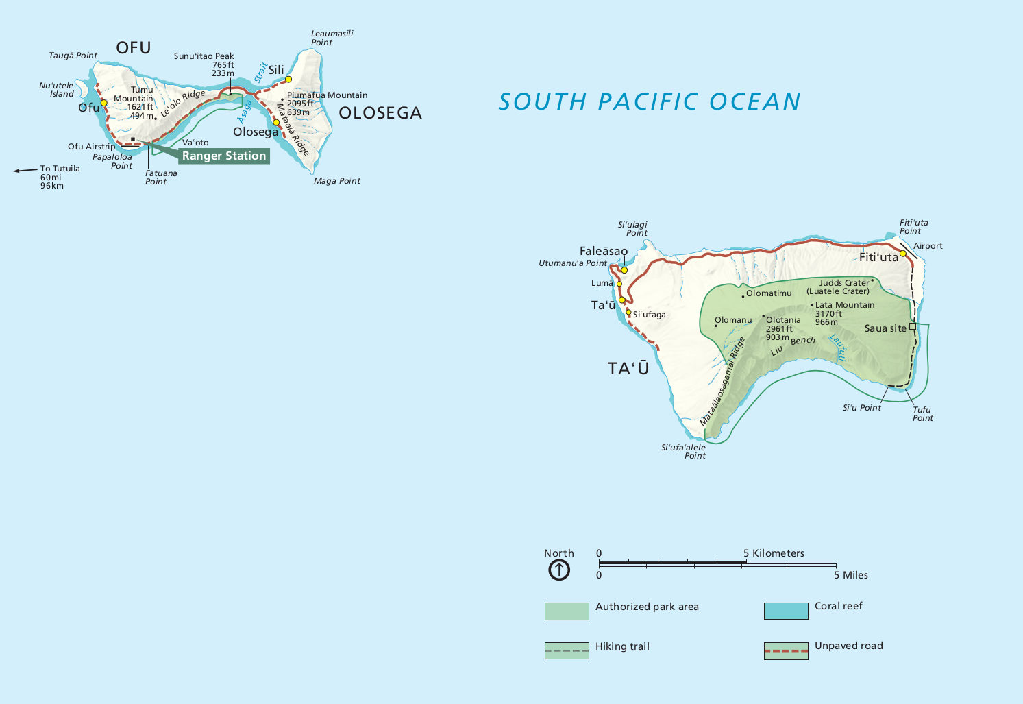 American Samoa Maps | NPMaps.com - just free maps, period.