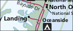 Assateague Island map