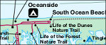Assateague Island National Seashore map