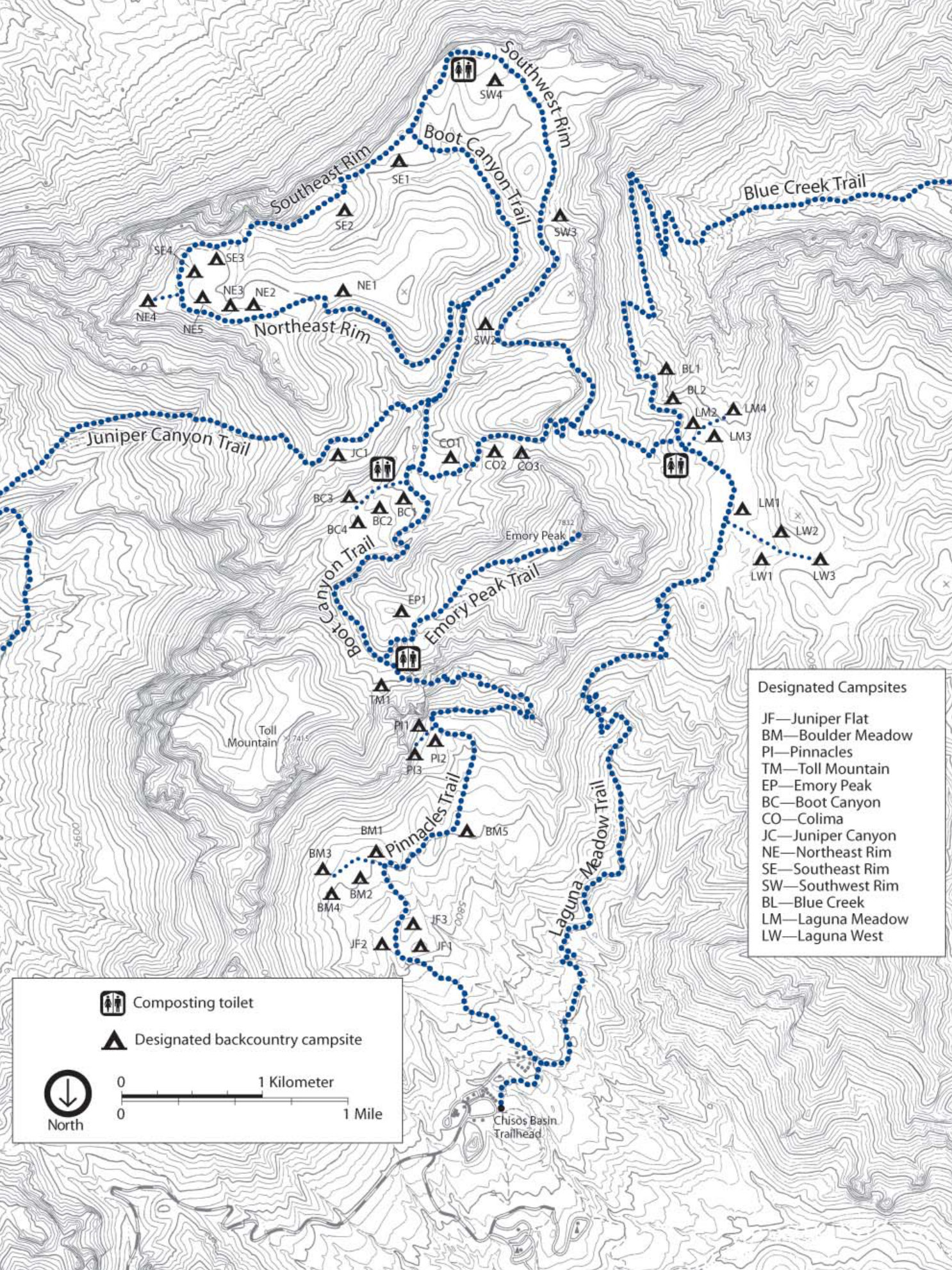 Big Bend Maps | NPMaps.com - just free maps, period.