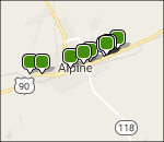 Interactive Big Bend lodging map