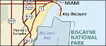 Biscayne National Park regional map