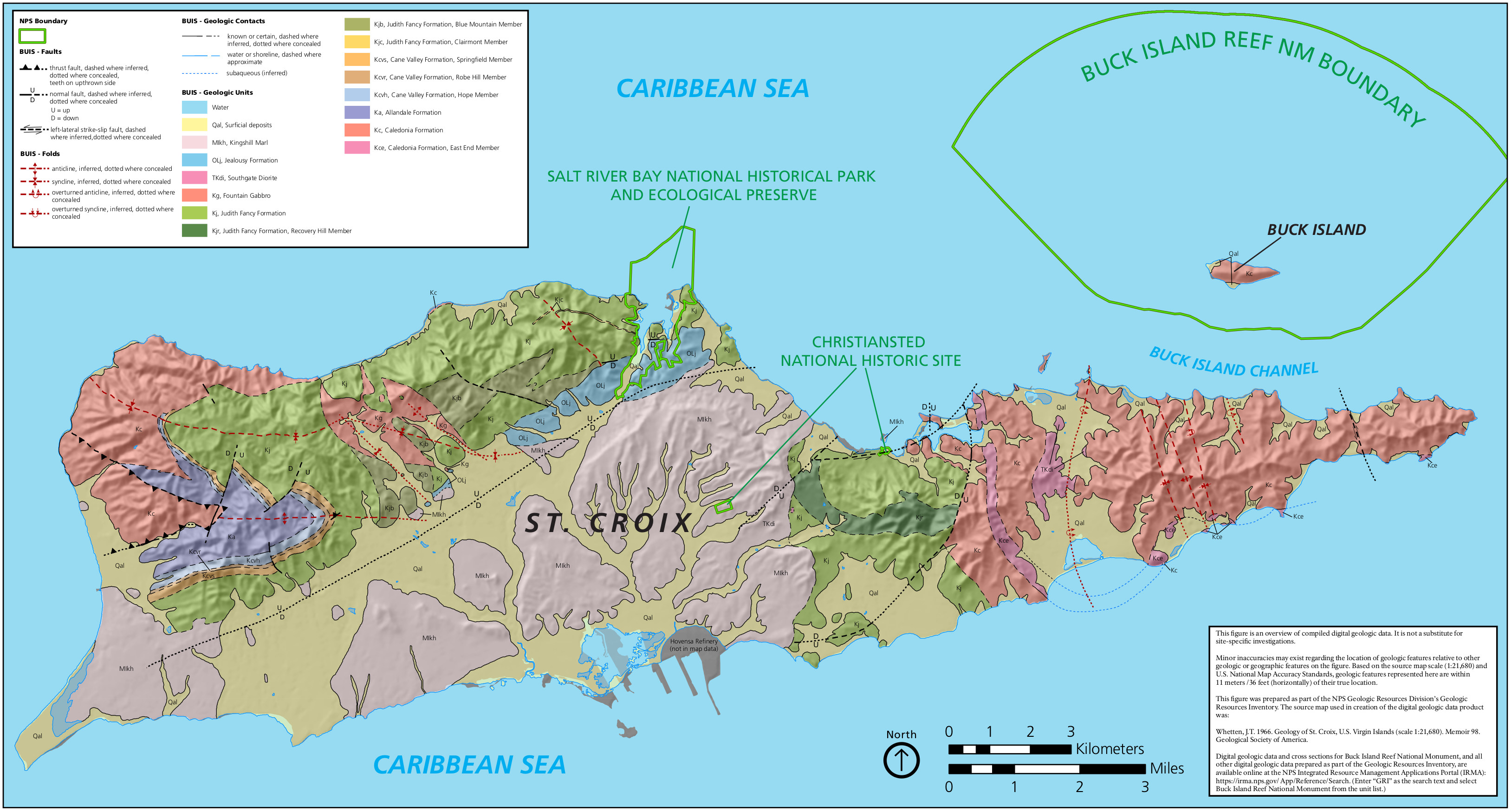 Virgin Islands Maps NPMapscom Just Free Maps Period - Map of st thomas us virgin islands