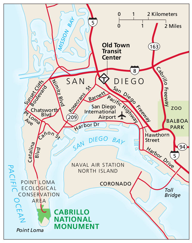 Cabrillo Maps NPMapscom just free maps period
