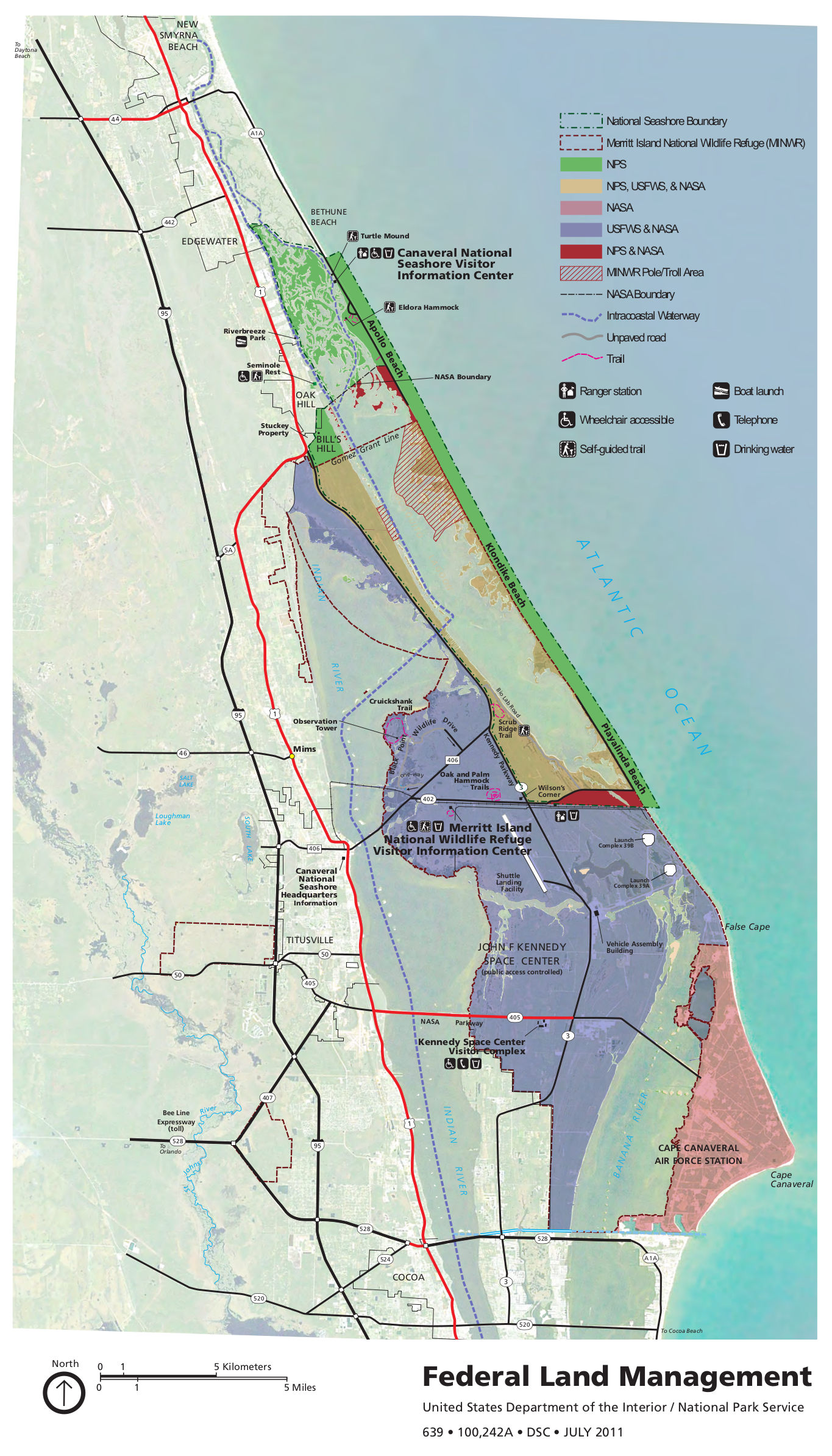 canaveral land management map. canaveral maps  npmapscom  just free maps period