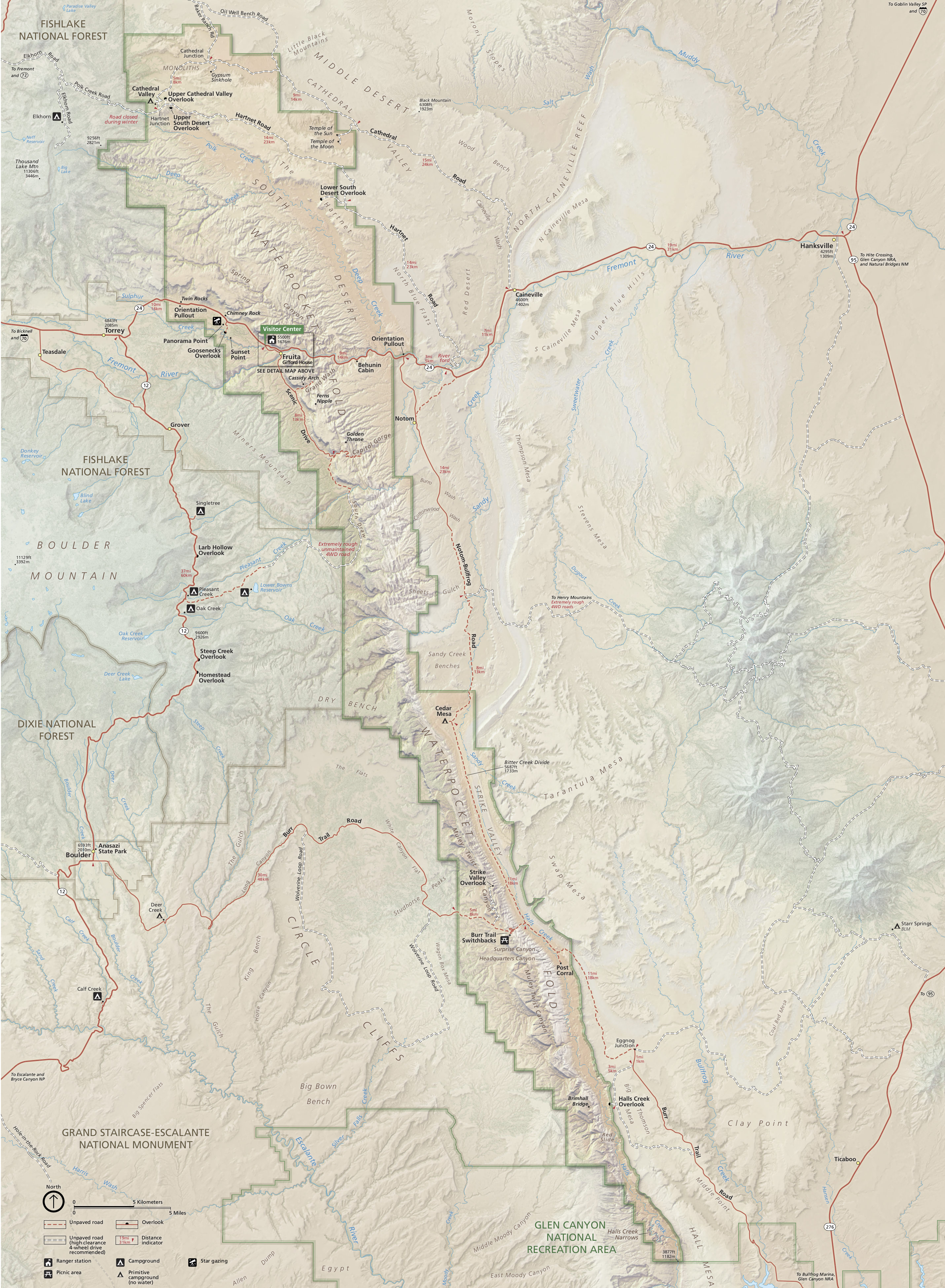 capitol reef maps | npmaps - just free maps, period.
