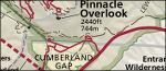 Cumberland Gap map