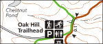 Cuyahoga Valley Oak Hill trail map