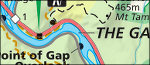 Delaware Water Gap map