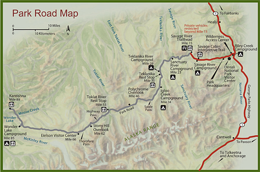 Denali Maps | NPMaps.com - just free maps, period. on
