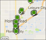 Interactive Everglades lodging map
