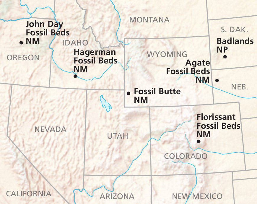 Fossil Butte Maps | NPMaps.com - just free maps, period.