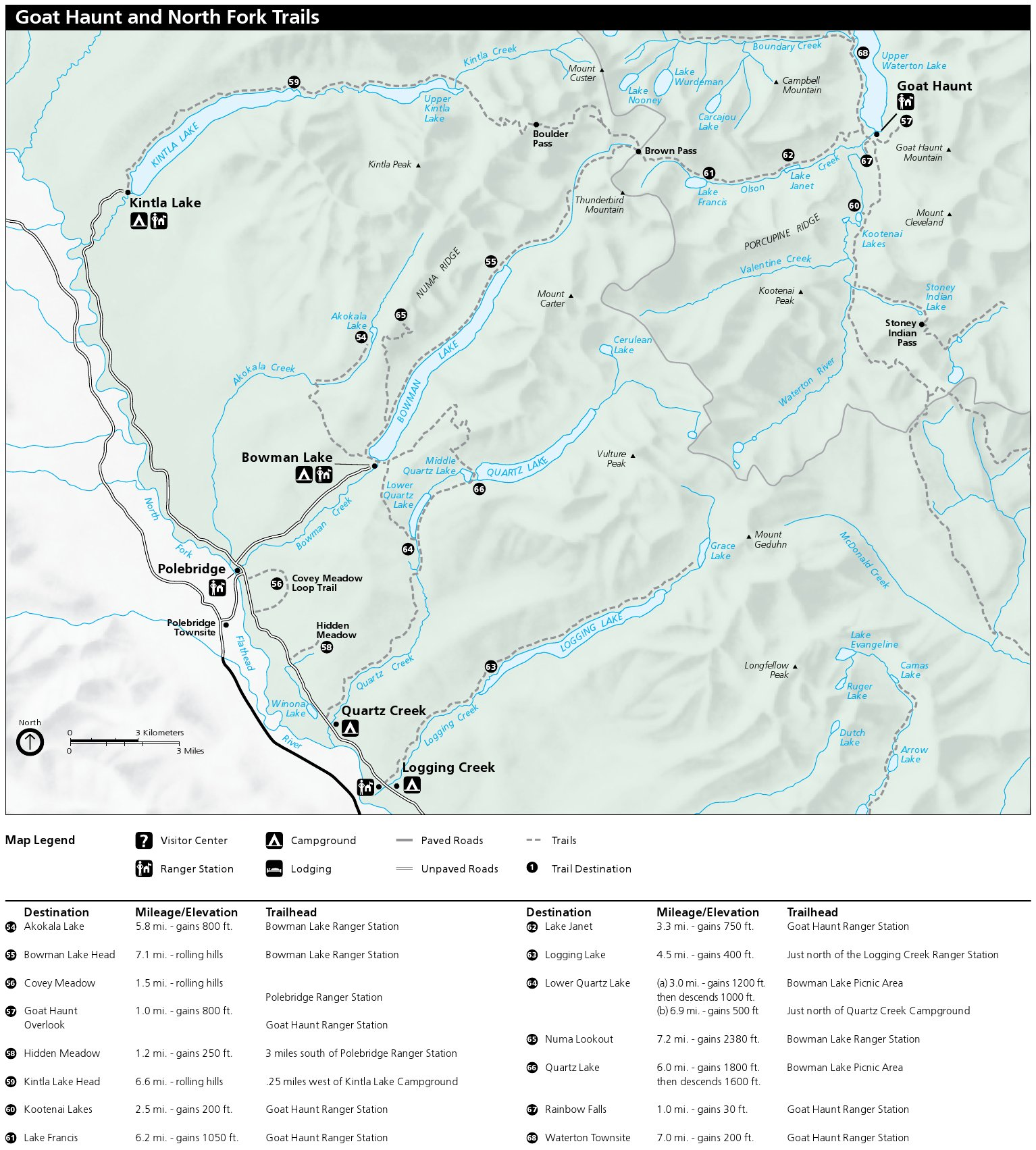 picture relating to Printable Map of Glacier National Park referred to as Glacier Maps  - simply just no cost maps, time period.