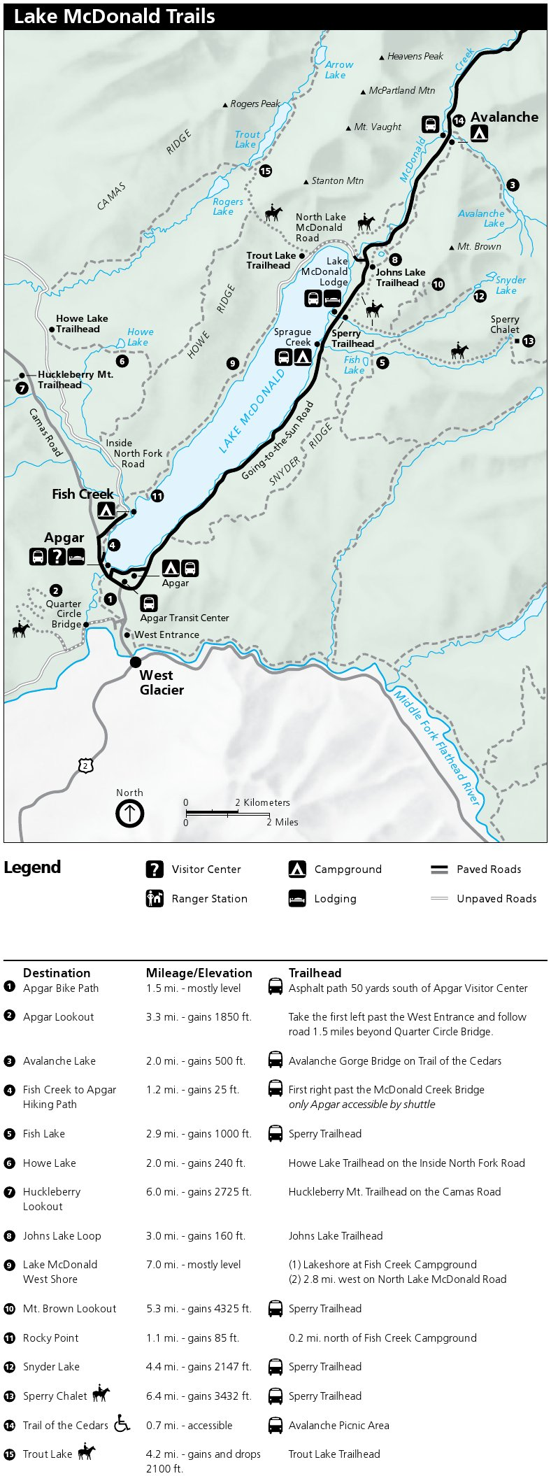 photograph regarding Printable Map of Glacier National Park referred to as Glacier Maps  - exactly no cost maps, period of time.