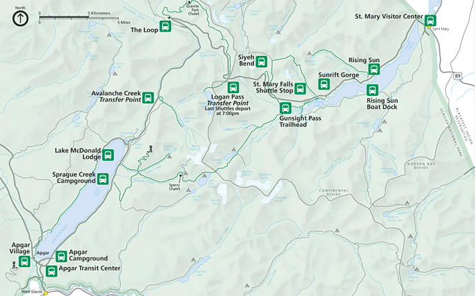 graphic about Printable Map of Glacier National Park titled Glacier Maps  - exactly no cost maps, period of time.