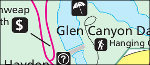 Glen Canyon Page map