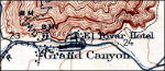 Grand Canyon historical topo map