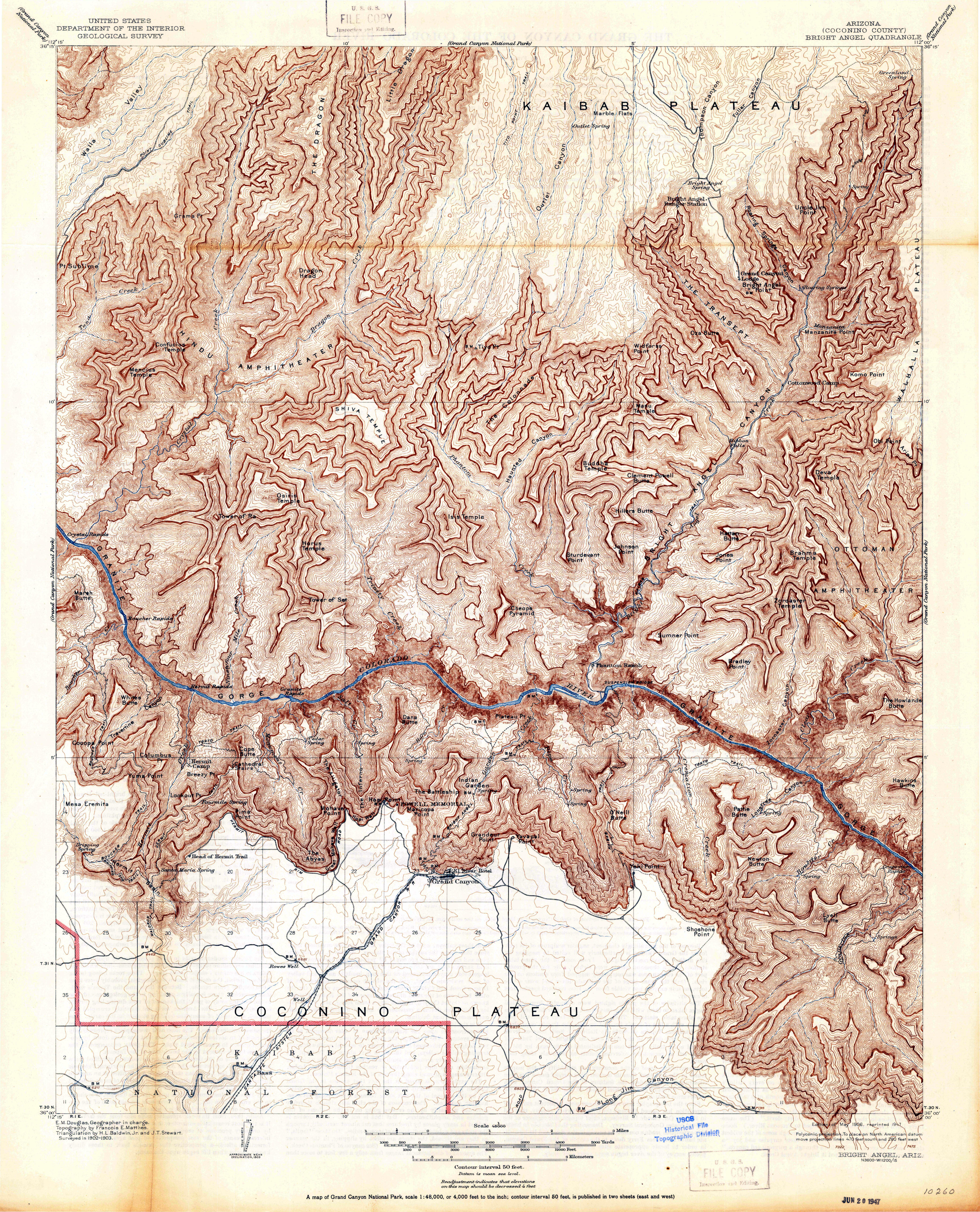 Topographic Map Grand Canyon.Grand Canyon Maps Npmaps Com Just Free Maps Period