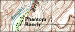 Grand Canyon south rim east topo map