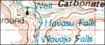 Grand Canyon topo map
