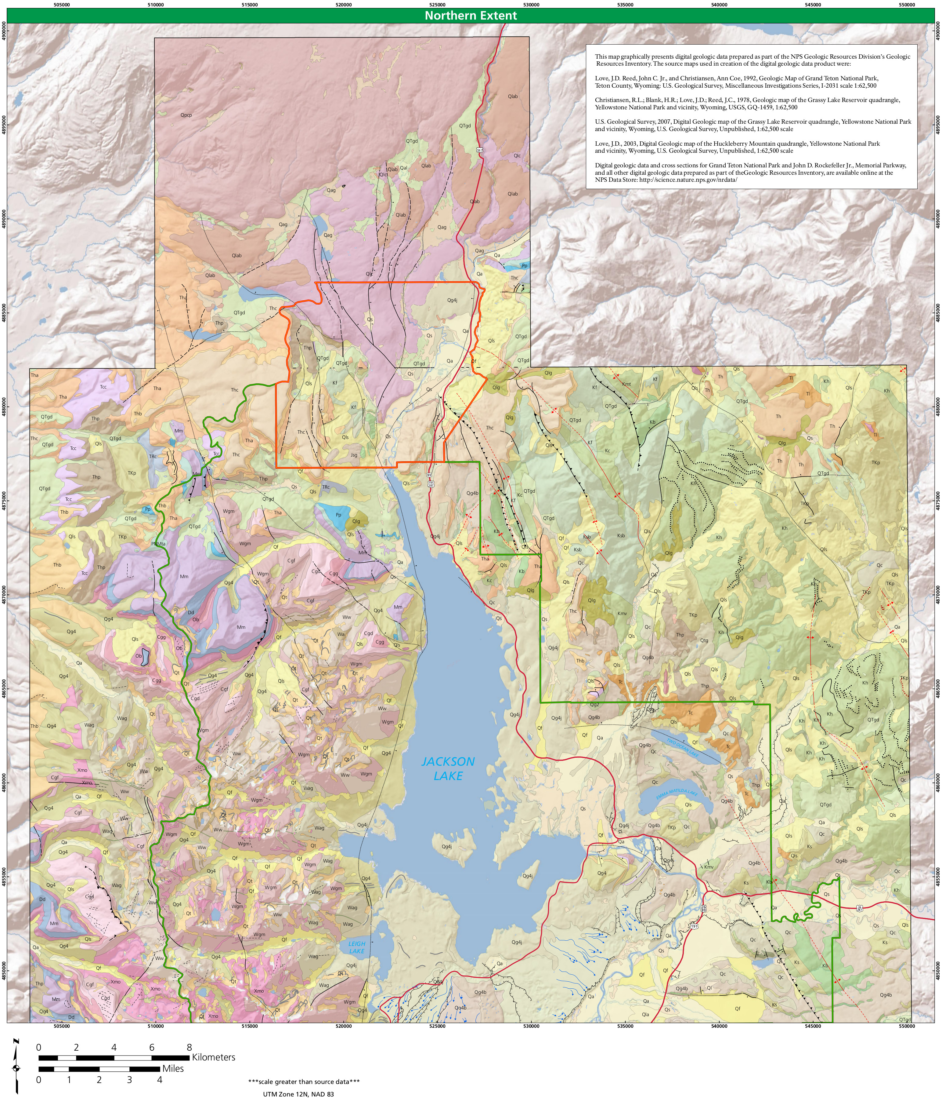 Grand Teton Maps NPMapscom Just Free Maps Period - Map of us national parks poster