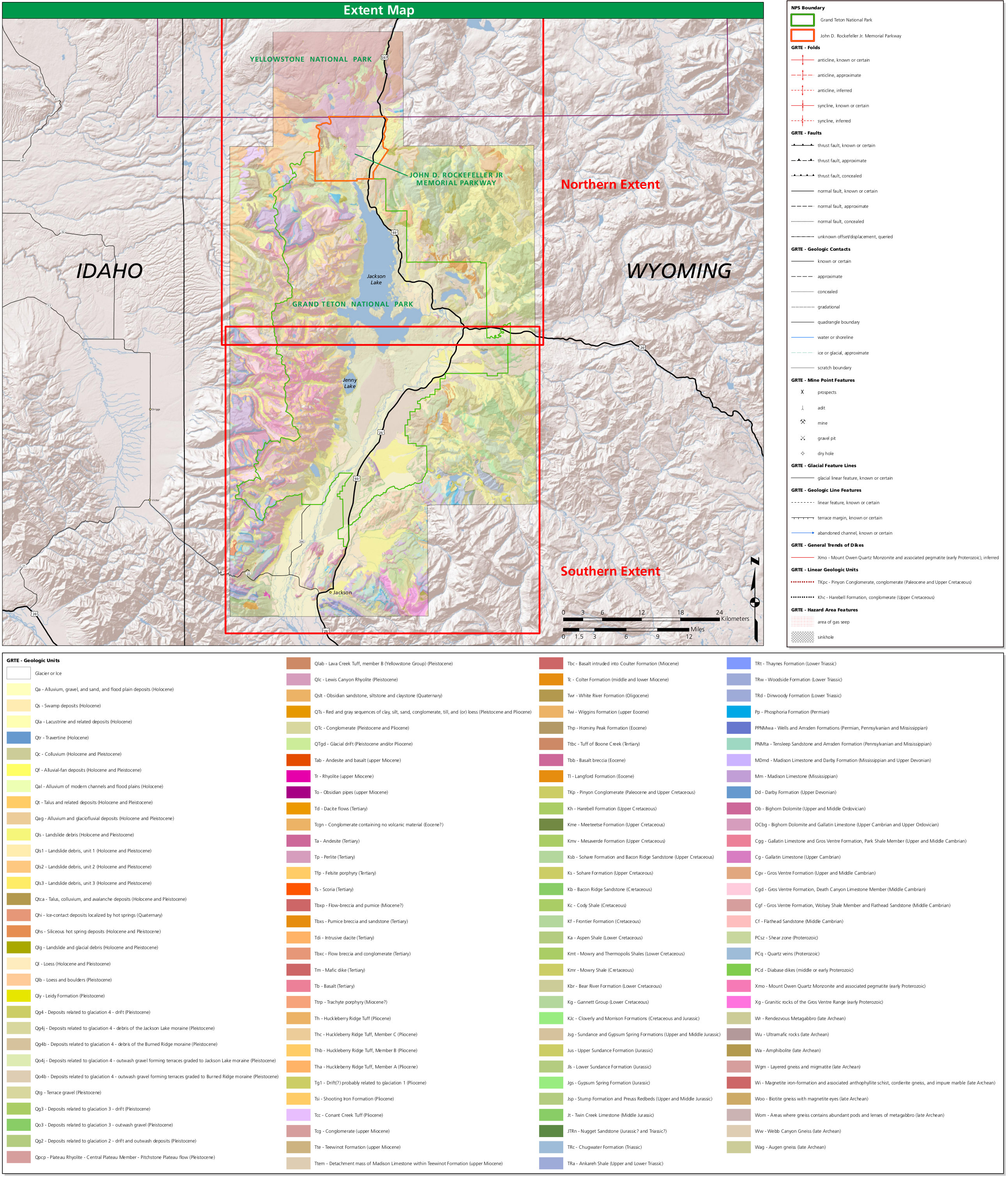grand teton national park map pdf