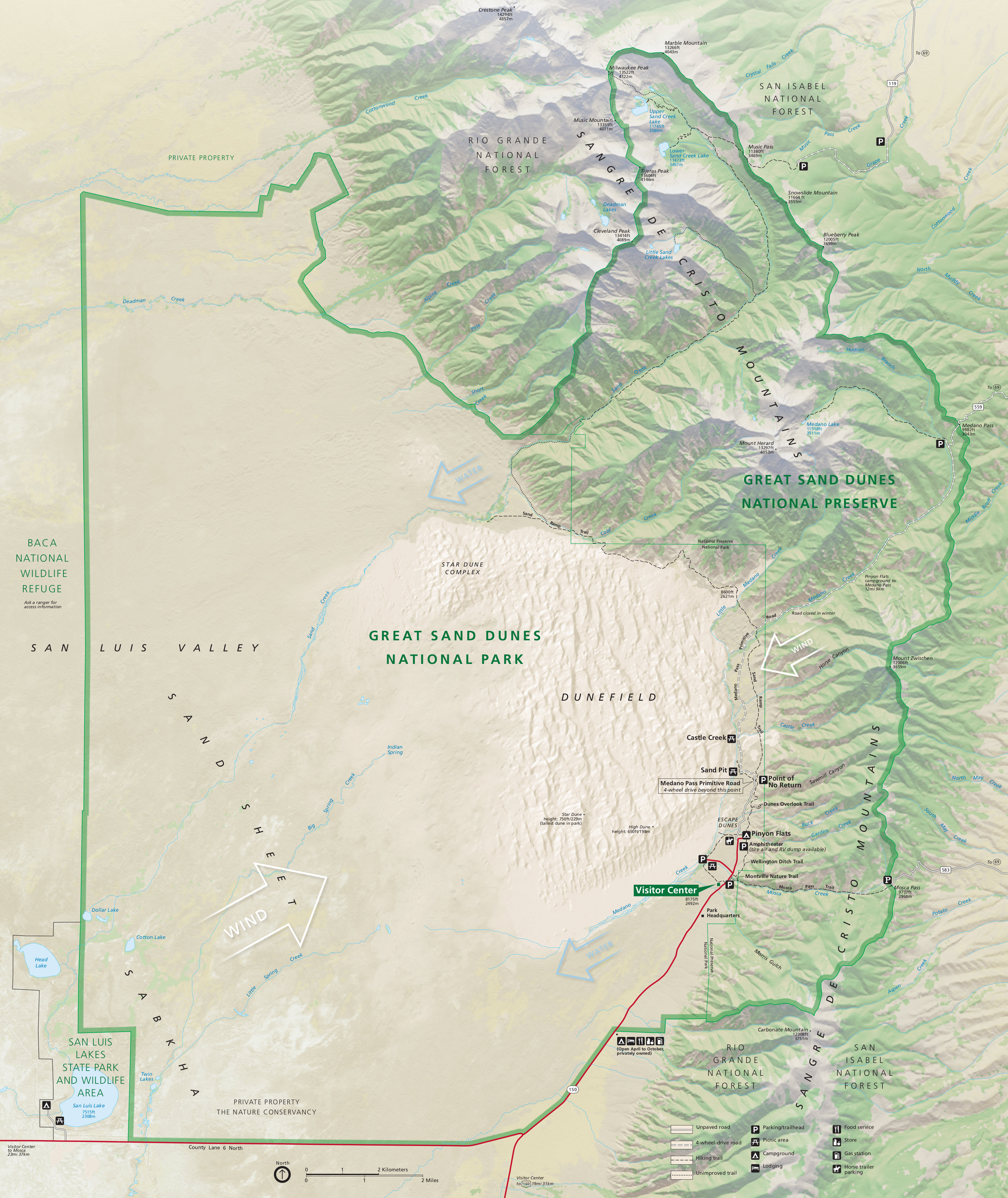 National Parks - Us national parks interactive map