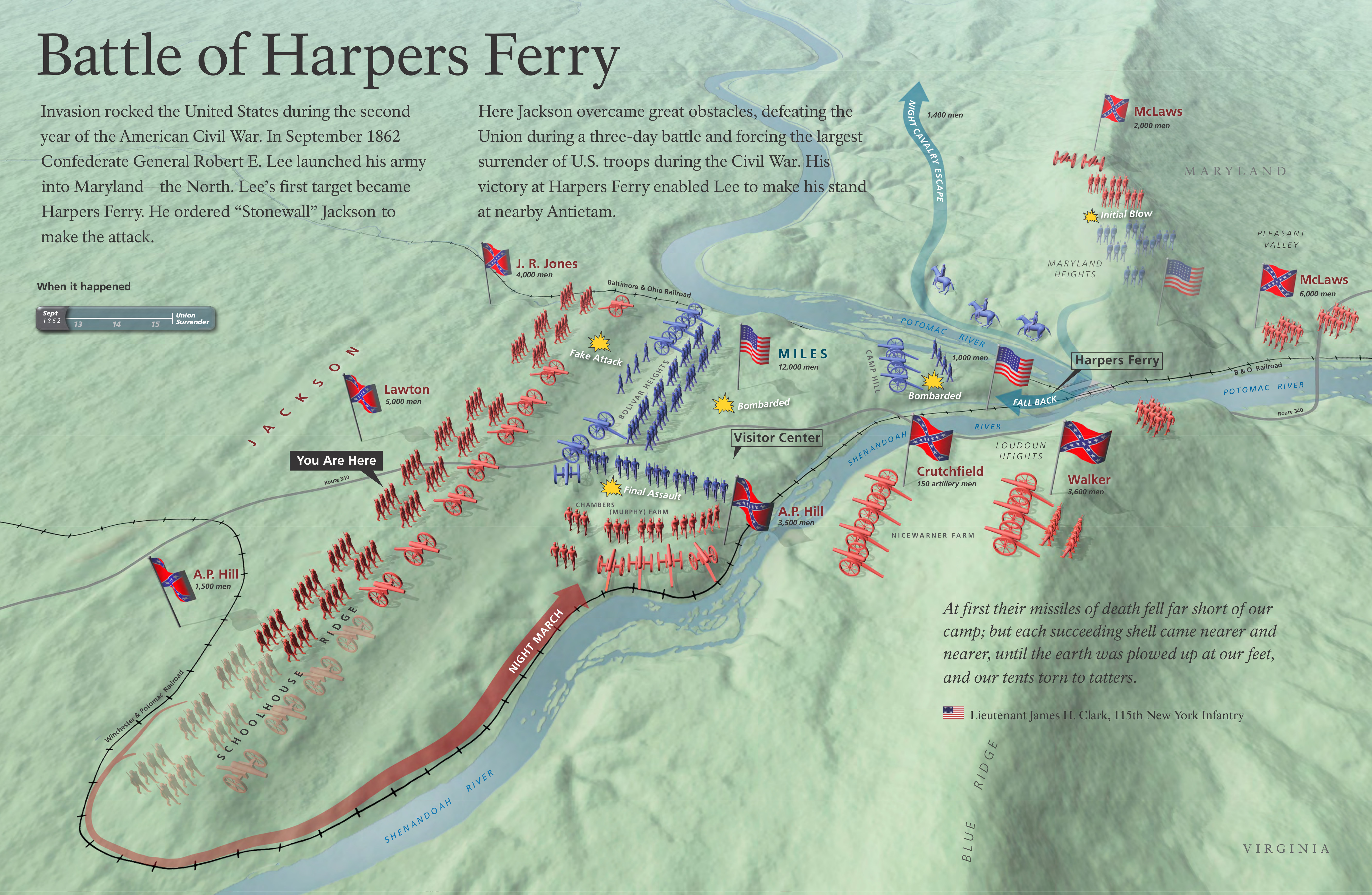 Harpers Ferry Maps NPMapscom Just Free Maps Period - Washington dc ferry map
