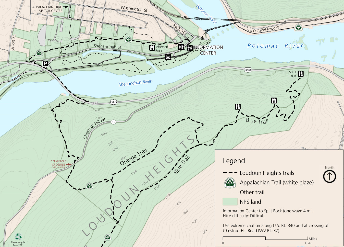 Harpers Ferry Maps | NPMaps.com - just free maps, period.