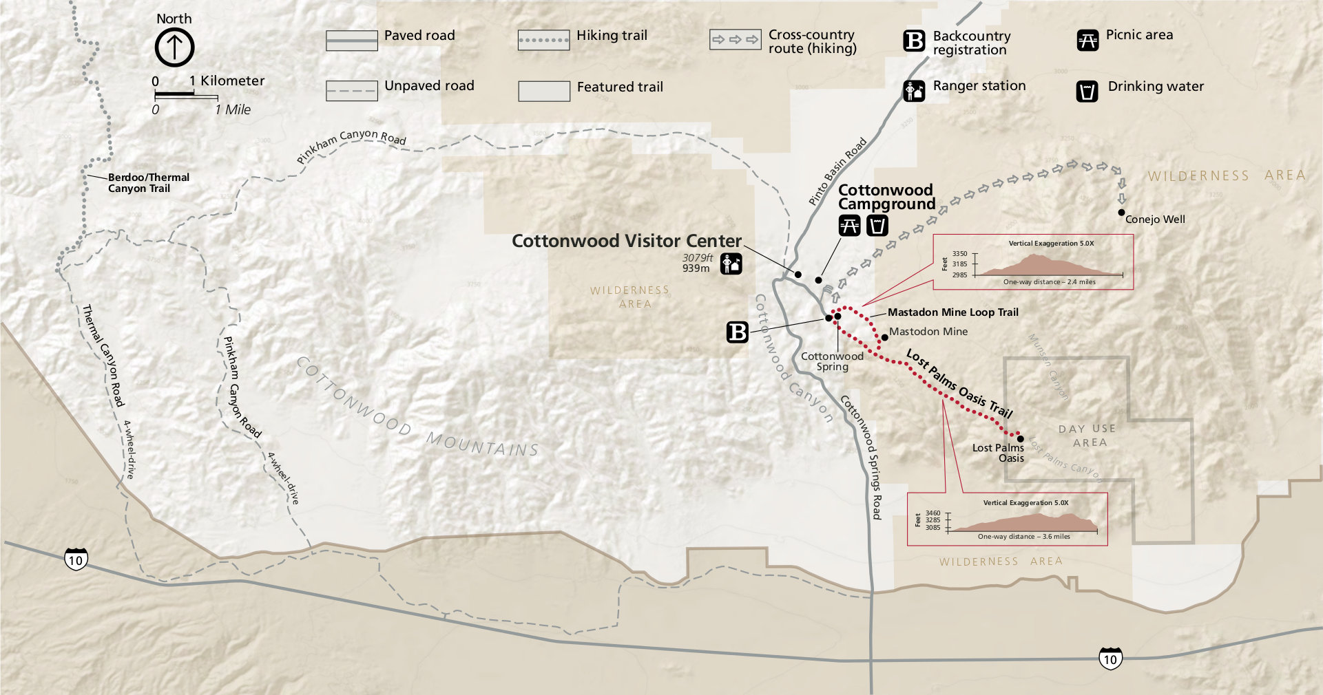 joshua tree backcountry registration board maps. joshua tree maps  npmapscom  just free maps period