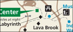 Lava Beds Cave Loop Road map
