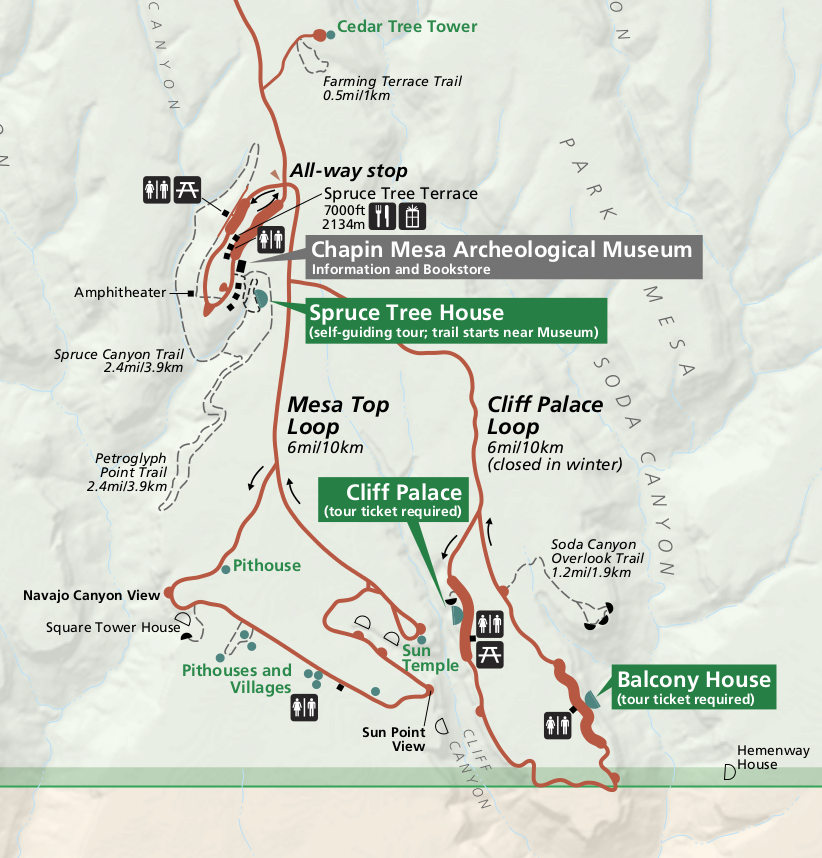 Colorado National Park Trail Maps Feral