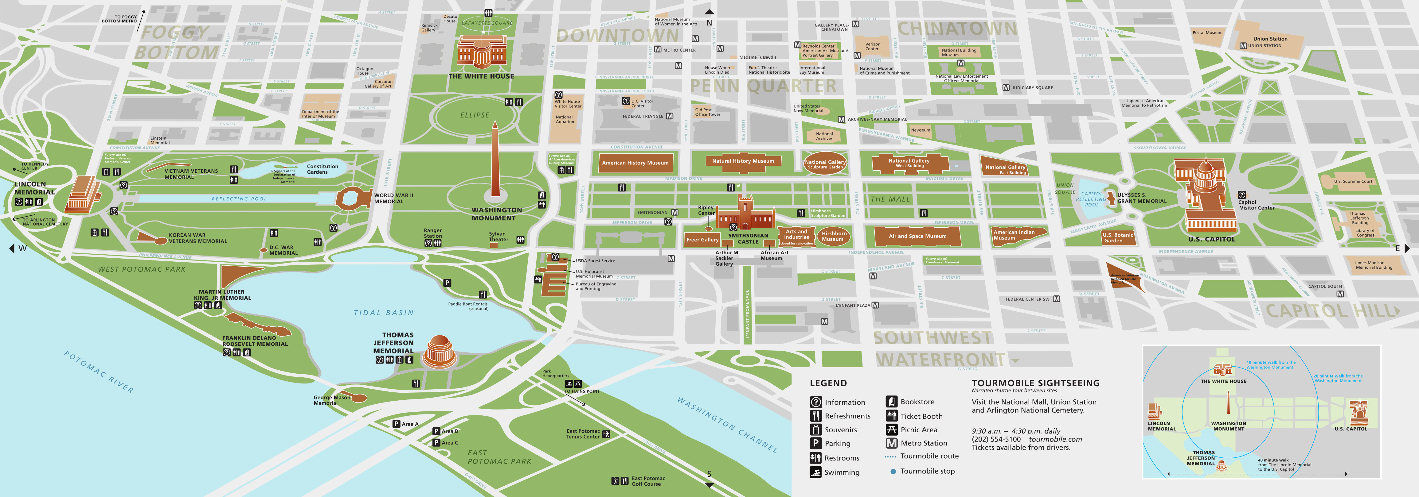 National Mall Maps | NPMaps.  just free maps, period.