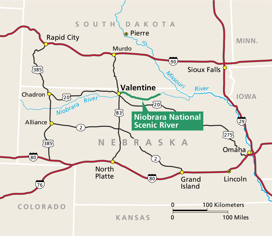 Niobrara Maps NPMapscom Just Free Maps Period - Nebraska rivers map