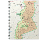 Link to notebook national park map store