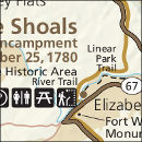Overmountain Victory Trail map