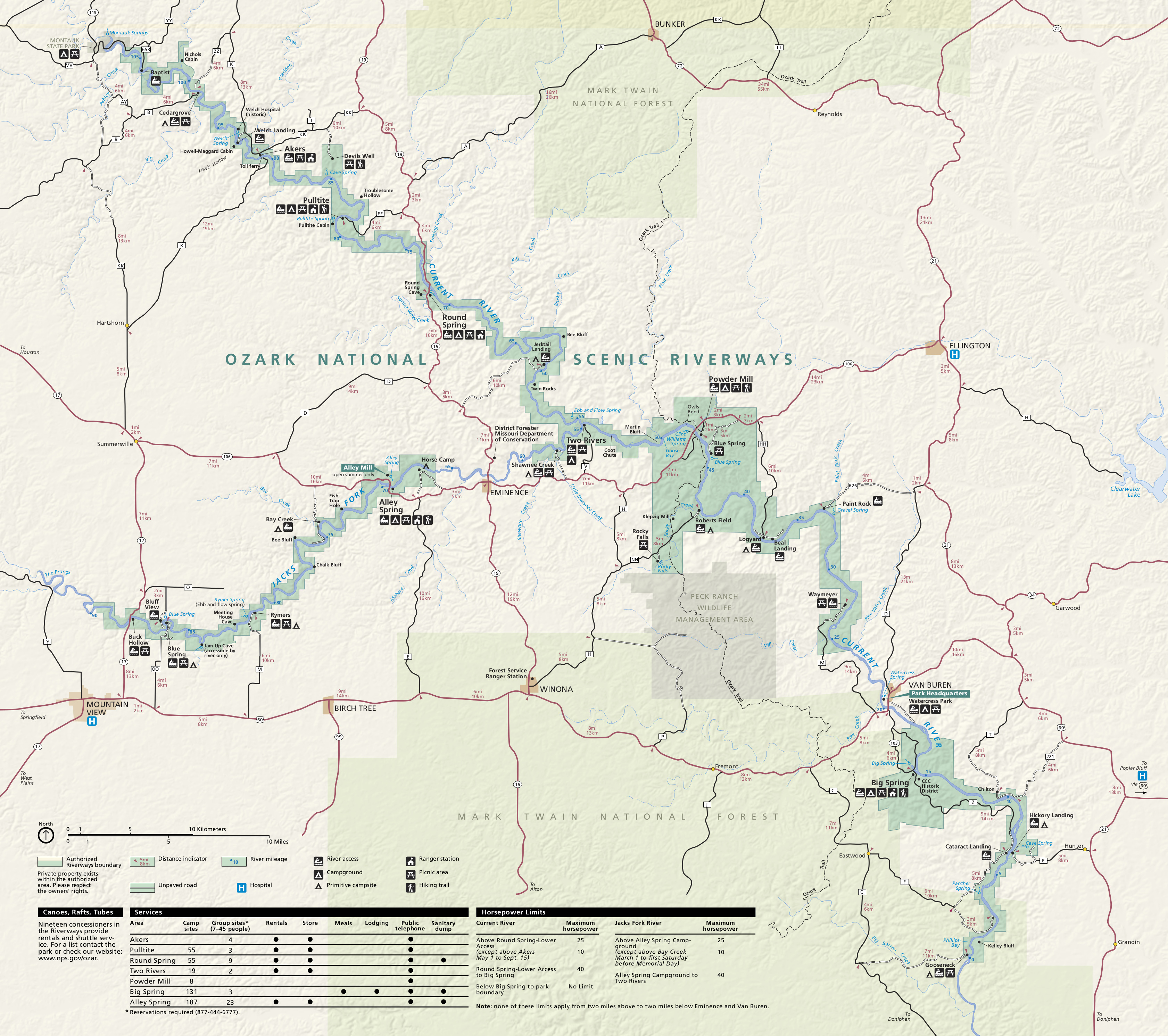 Ozark Mountains Topographic Map.Ozark Maps Npmaps Com Just Free Maps Period