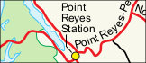 Point Reyes Regional Map