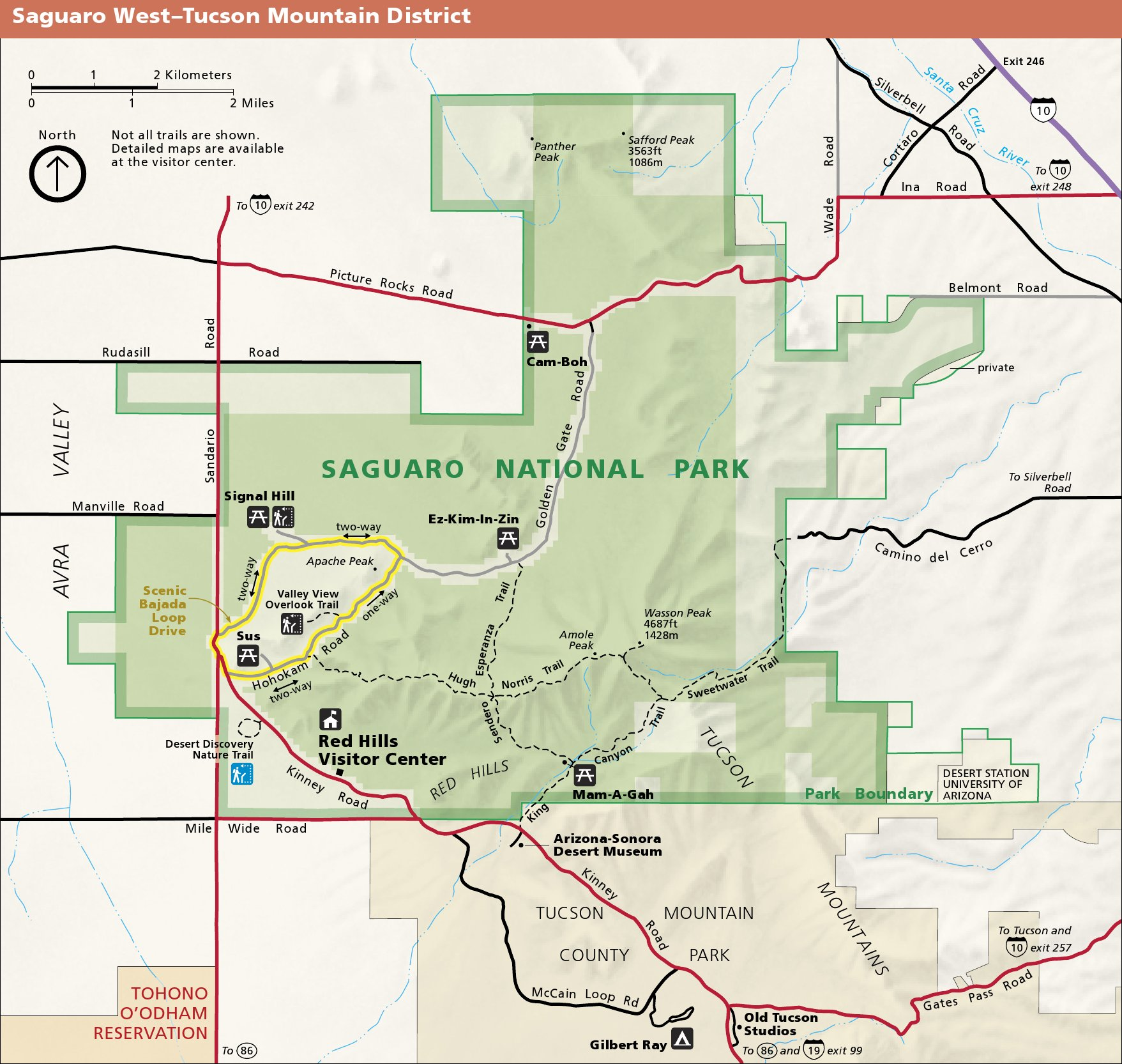 Saguaro Maps NPMapscom just free maps period