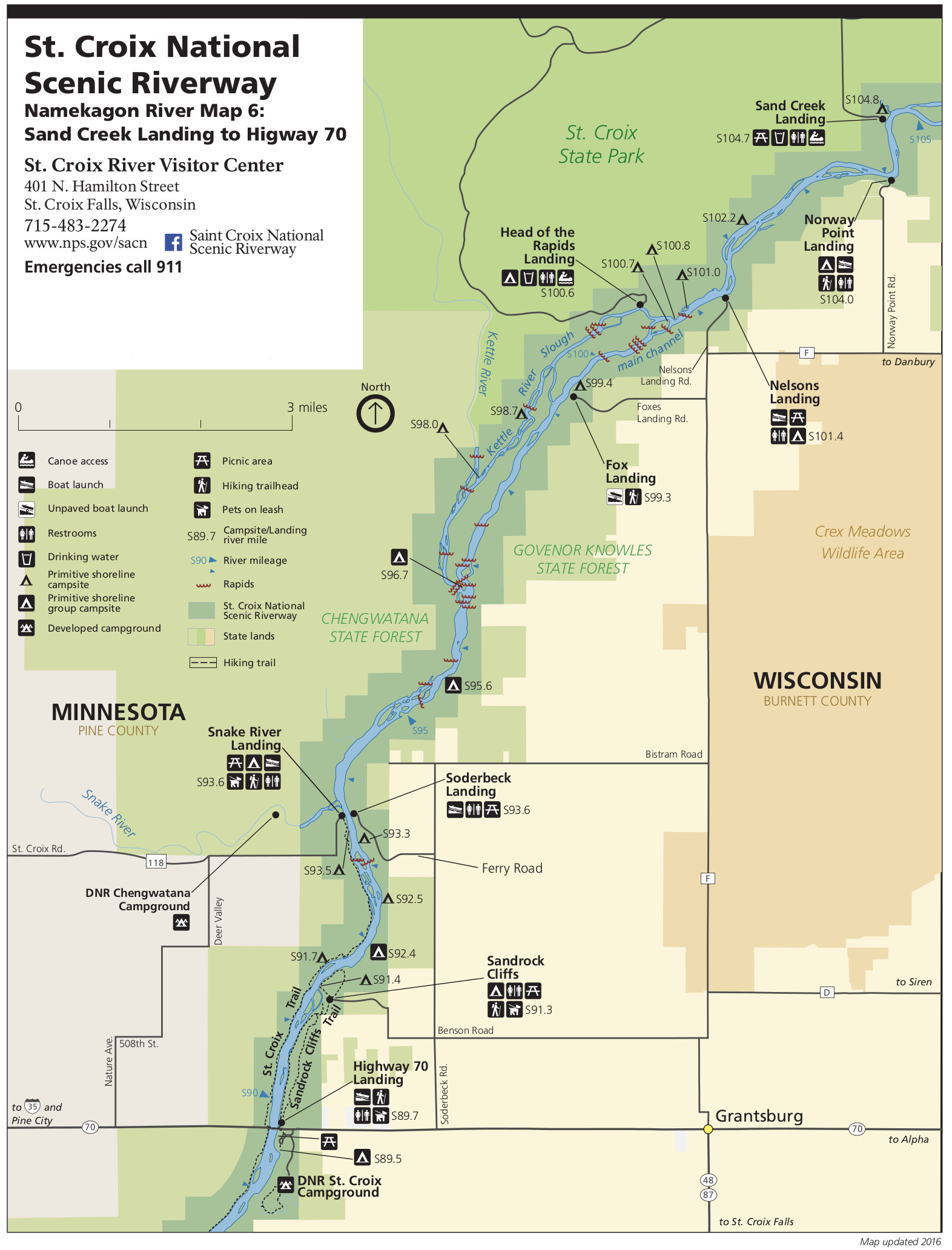 saint croix river map 6