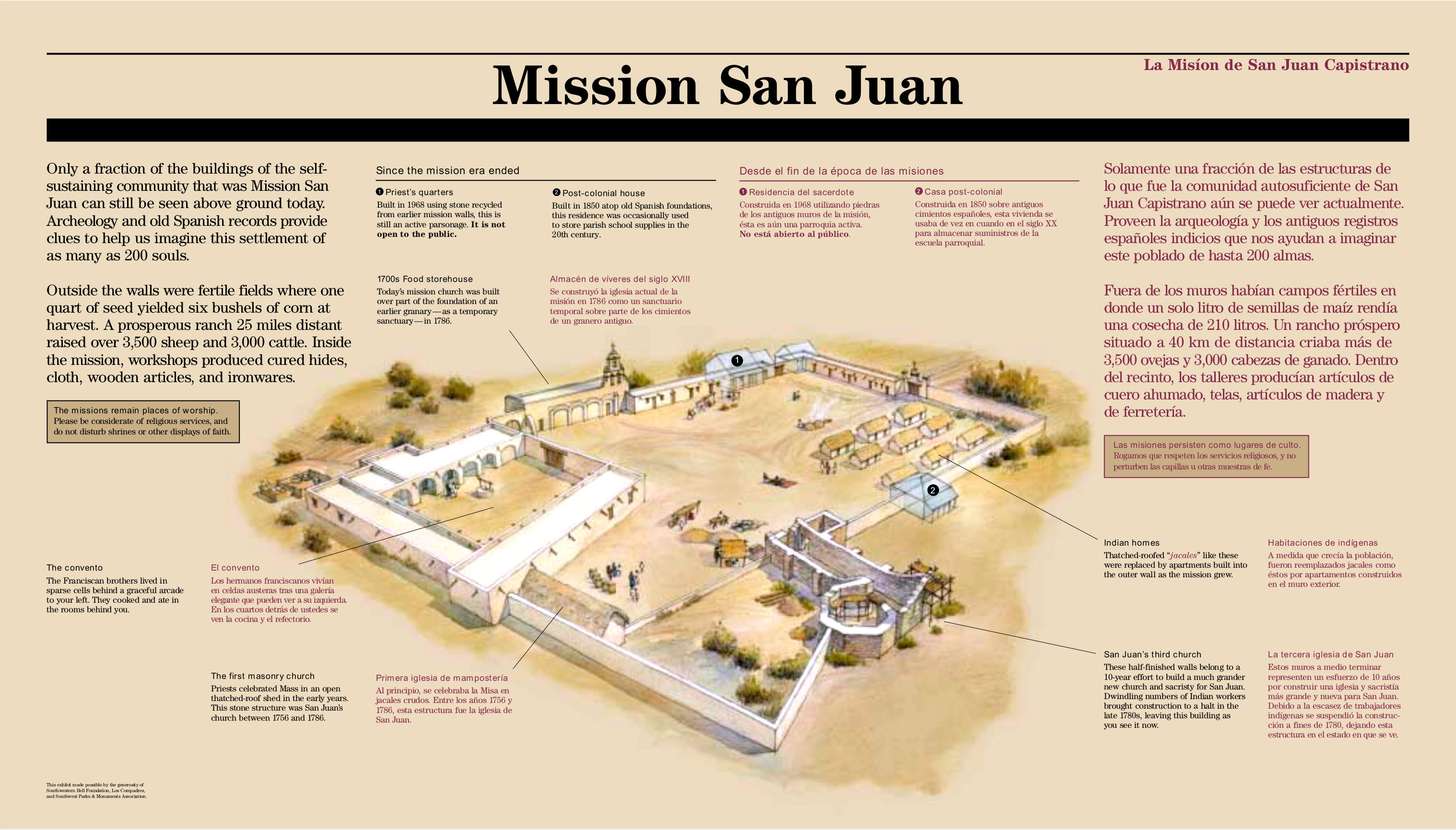 San Antonio Missions Maps NPMapscom just free maps period