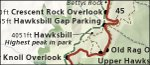 Shenandoah National Park map thumbnail