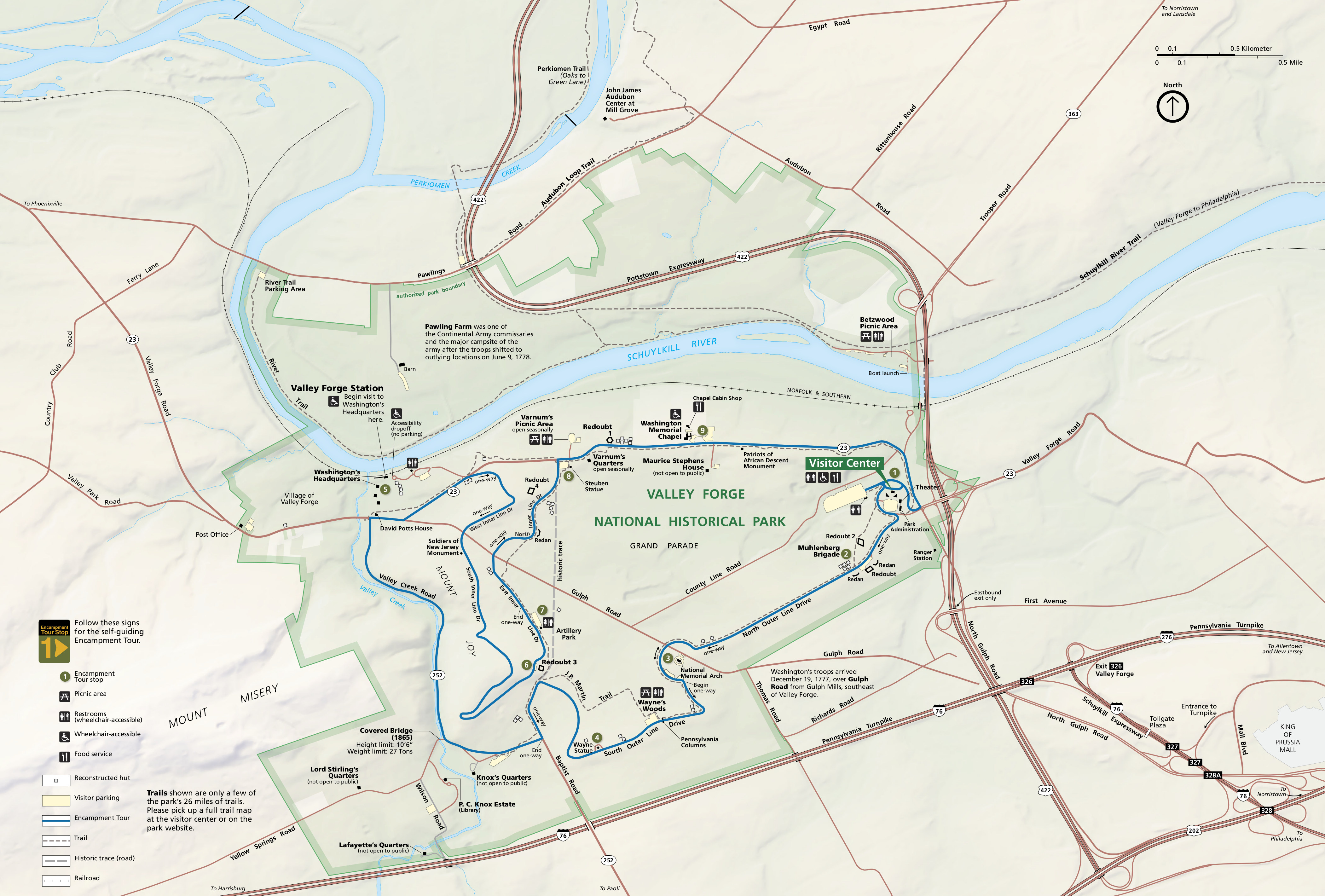 Valley Forge Maps NPMapscom Just Free Maps Period - Map of just egypt
