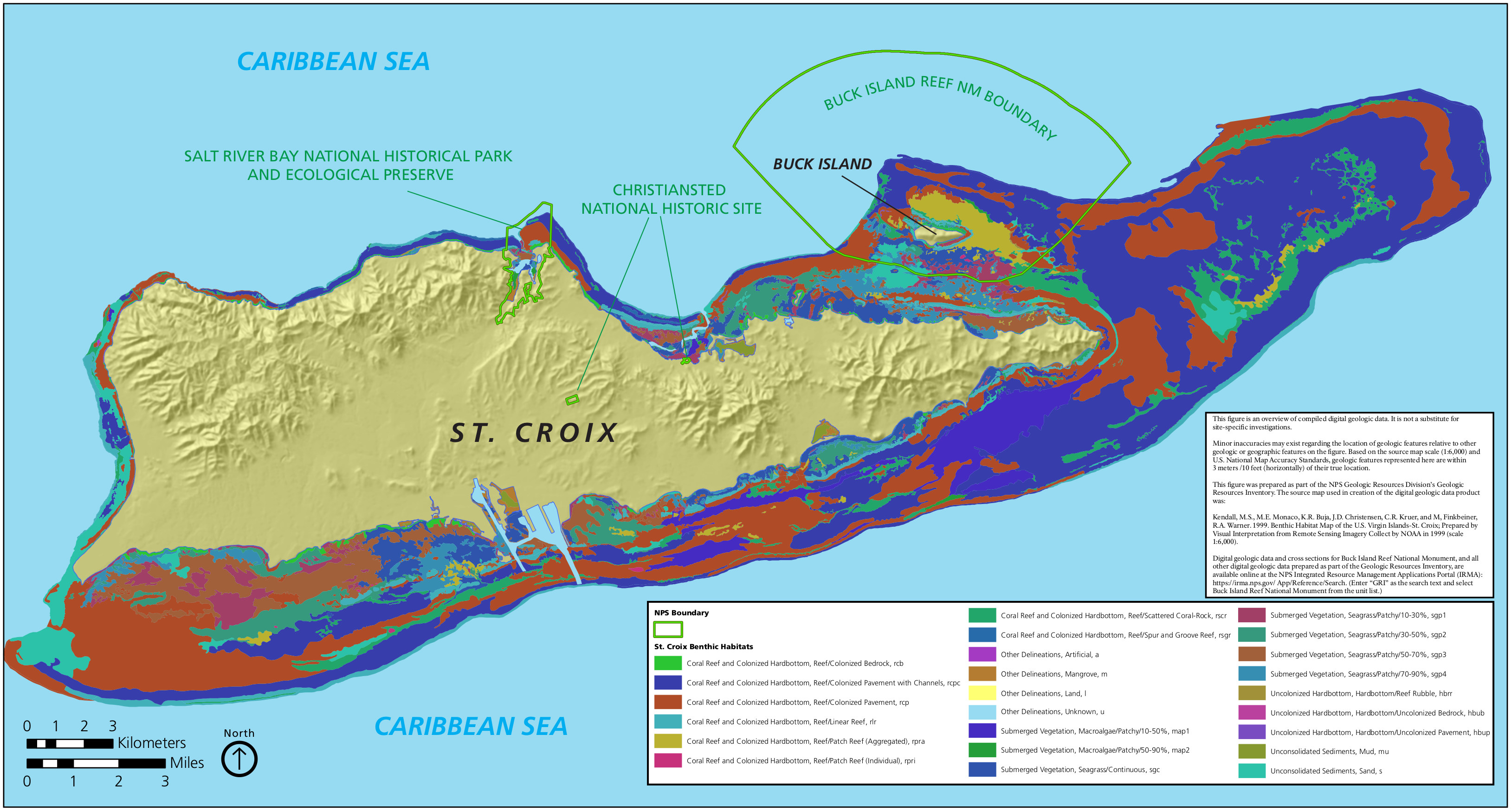virgin islands st croix benthic map