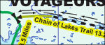 Voyageurs snowmobile trails map