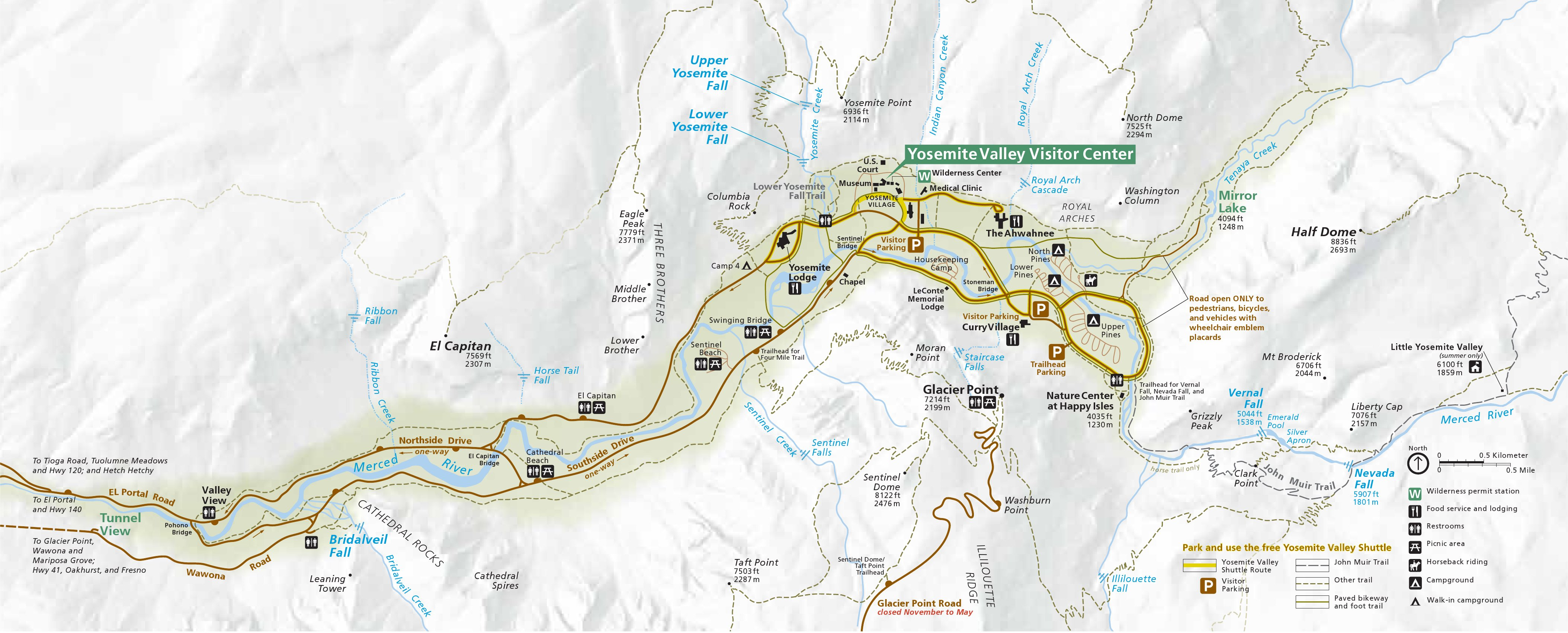 Yosemite Maps | NPMaps.com - just free maps, period.