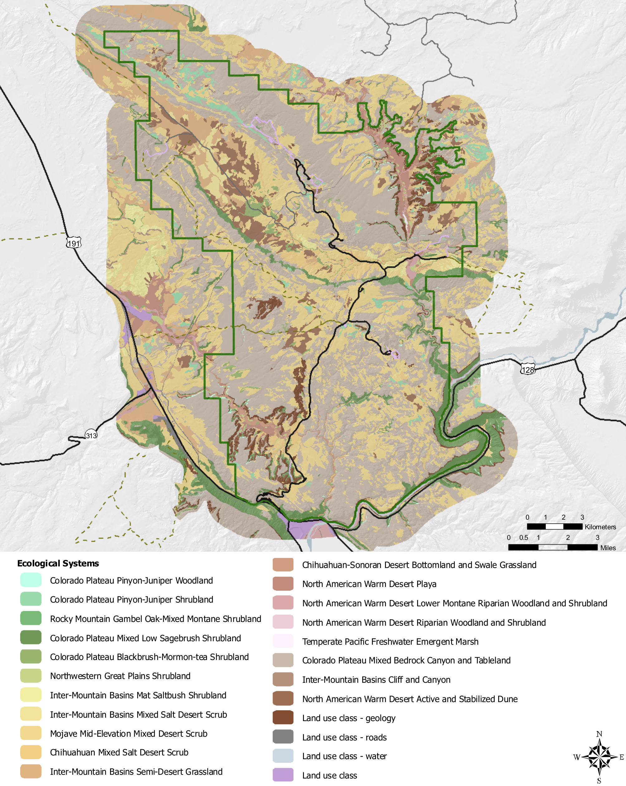 Map Of Arches National Park Arches Maps | NPMaps.  just free maps, period. Map Of Arches National Park